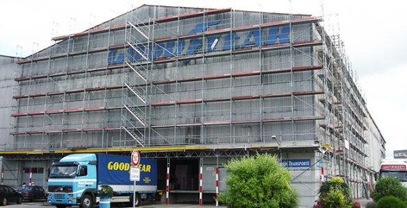 Renovation Lagerhaus, Erweiterung Logistik-Dienstleistungen
