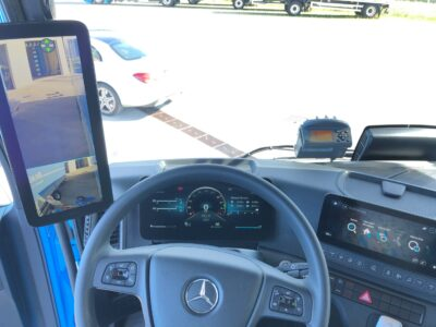 Fahrerraum - Transportfahrzeug