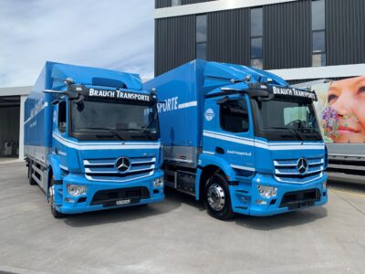 Brauch Transporte AG - Transportfahrzeug