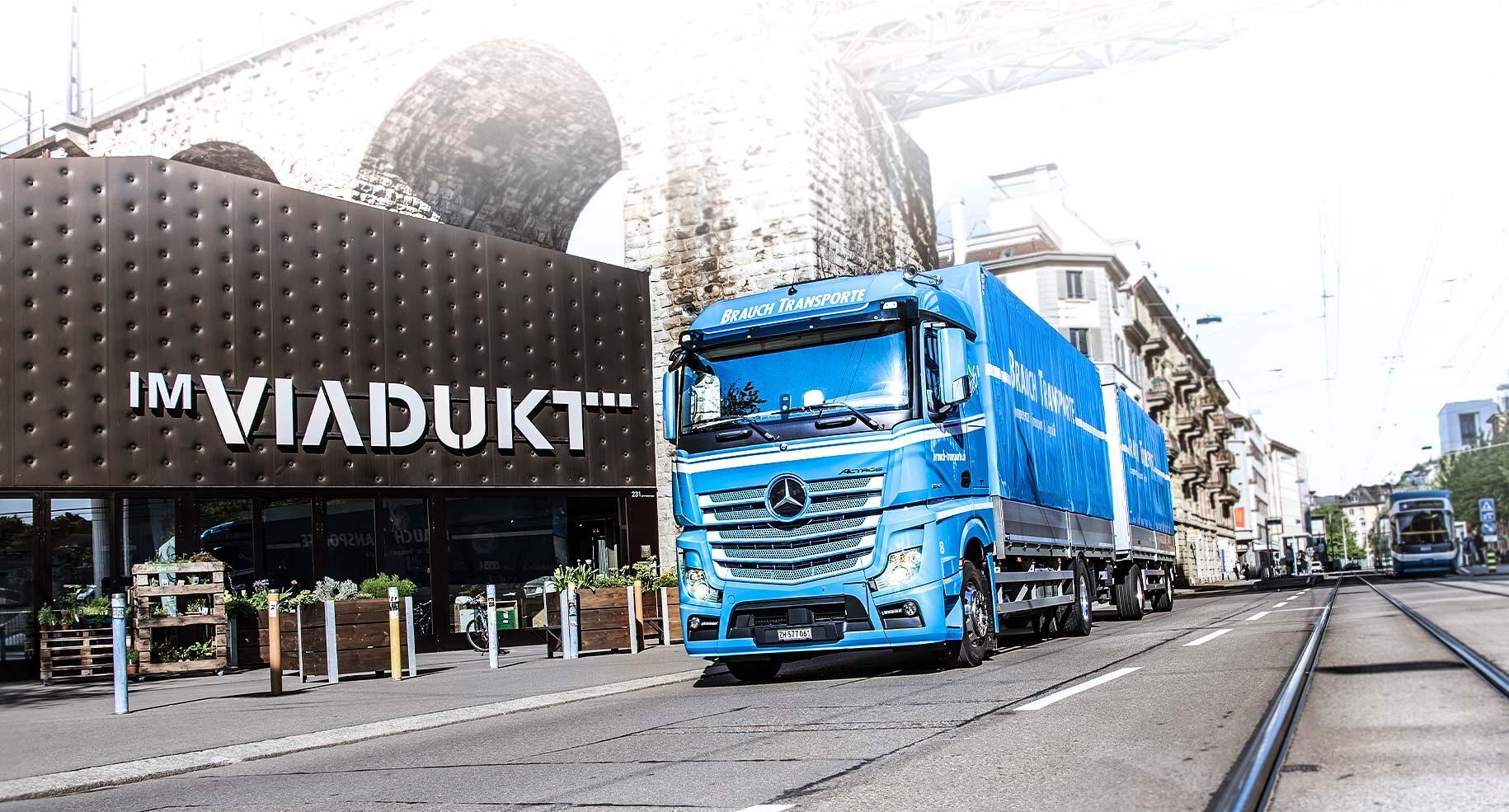 Brauch Transporte in Zürich