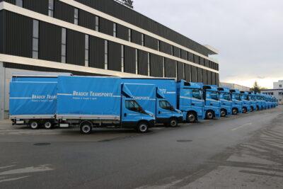 15 neue Euro 6 Fahrzeuge