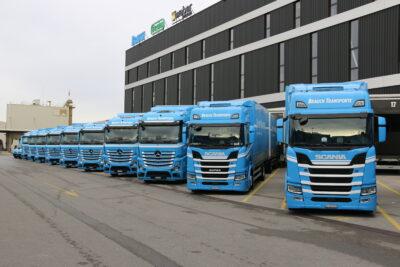 Fahrzeugflotte 2019 - Brauch Transporte AG