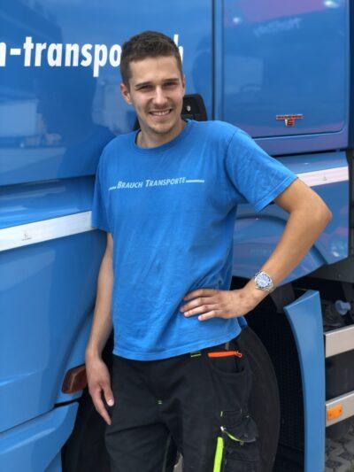Silvio Fuchs - Strassentransportfachmann EFZ