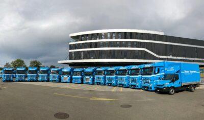 100 Jahre Brauch Transport AG! 14 neue Fahrzeuge