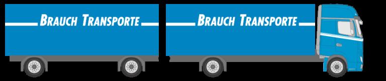 Anhängerzug - Brauch Transporte AG