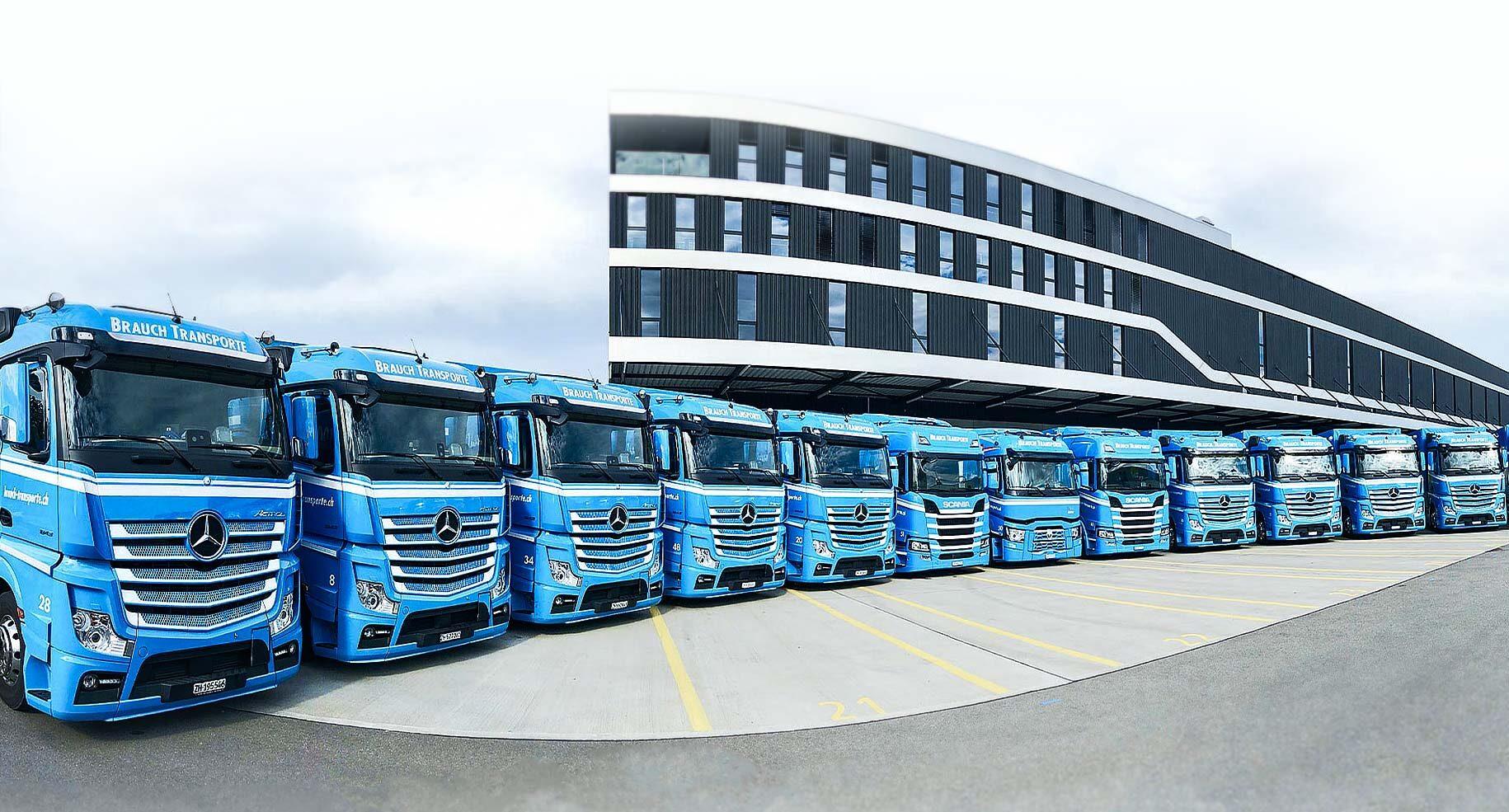 Brauch Transporte Lastwagen
