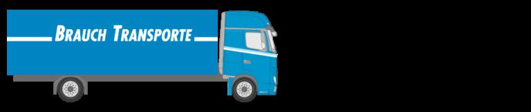 Lastwagen mit Blache - Brauch Transporte AG
