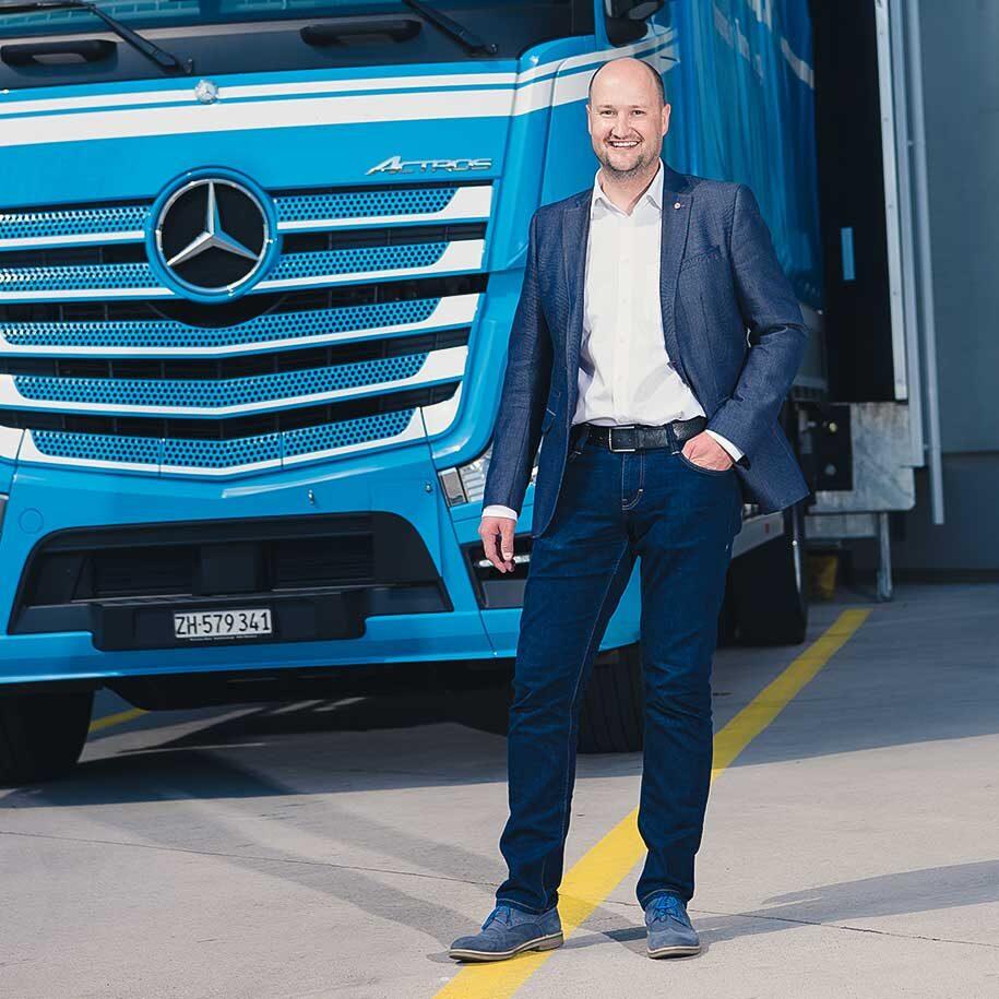 Thomas Brauch, Geschäftsleiter Brauch Transporte